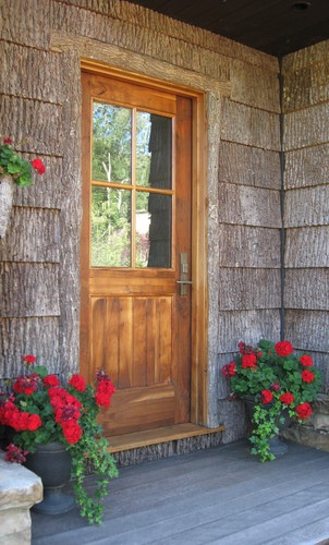 Country Farm Front Porch Doors Pinterest