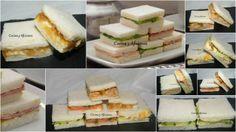 Cinco tipos de sánwiches o emparedados deliciosos para una fiesta perfecta, receta paso a paso