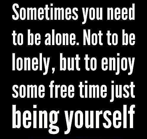 It's actually very beneficial to the health to take time to yourself every day a little bit! Aline ♥