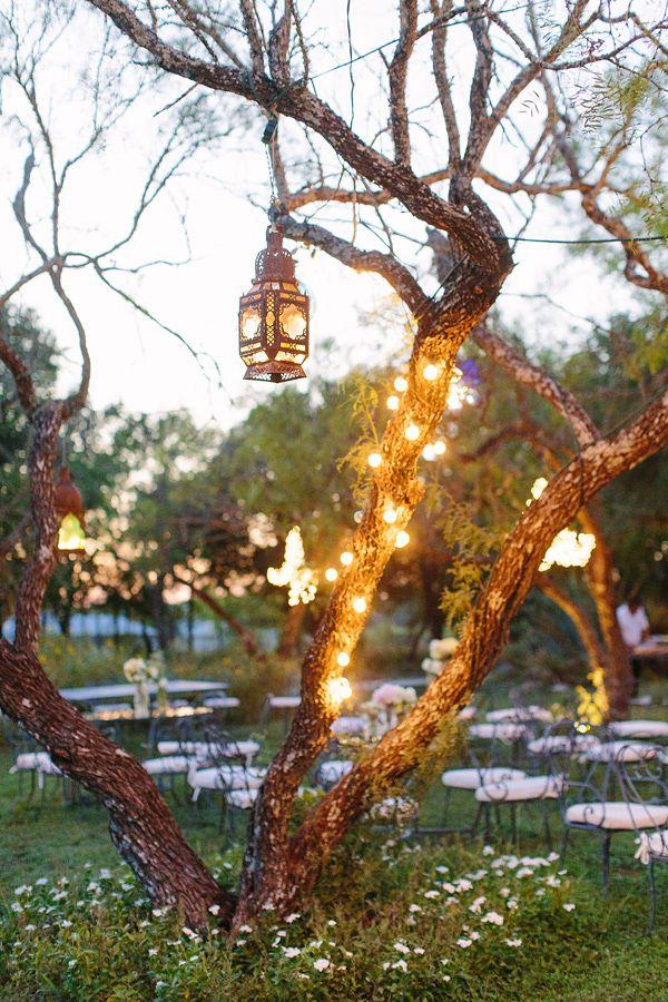 whimsical wedding ideas | whimsical wedding lighting ideas