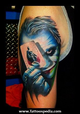 43 Best Images About Joker Tattoo Outlines On Pinterest