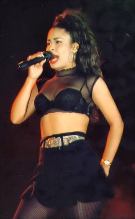 Selena Quintanilla-Perez. I lived in her hometown of Corpus Christi for many years. I still remember the day she was killed. Even the news anchors cried on screen. She was loved by so many.