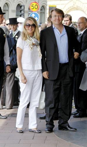 princesse Mabel van Oranje-Nassau, et prince Friso van Oranje-Nassau