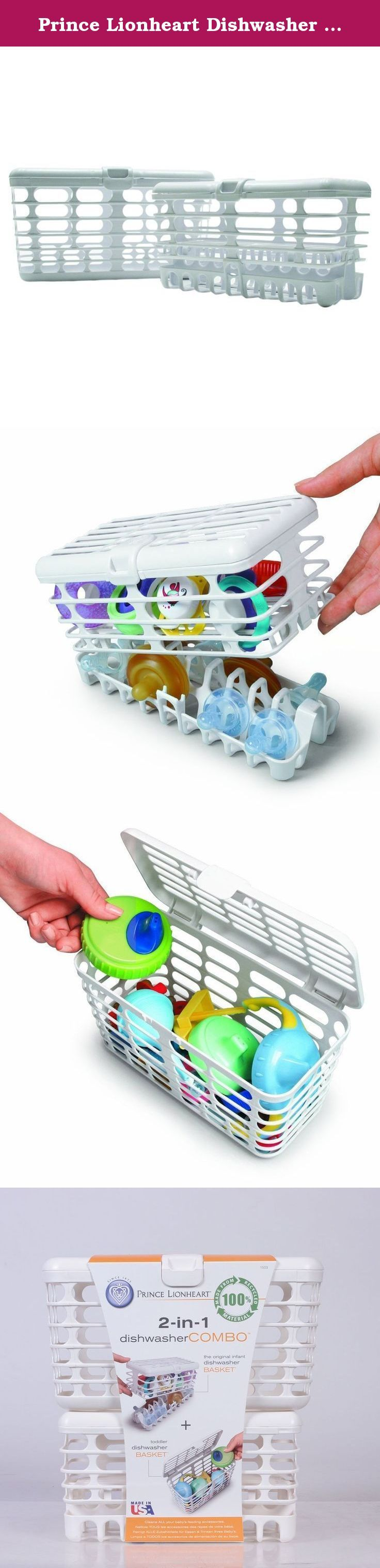 Prince Lionheart Dishwasher Basket Combo. Prince Lionheart Dishwasher Basket Combo at Kohl's - This Prince Lionheart Dishwasher Basket Combo thoroughly cleans pacifiers, nipples and other small baby feeding accessories in your dishwasher. Shop our full line of baby accessories at Kohls.com.