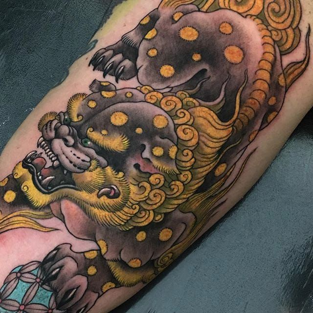 Pin By Quinn Rivera On Foo Dog Tattoo Foo Dog Tattoo Foo Dog Japanese Foo Dog