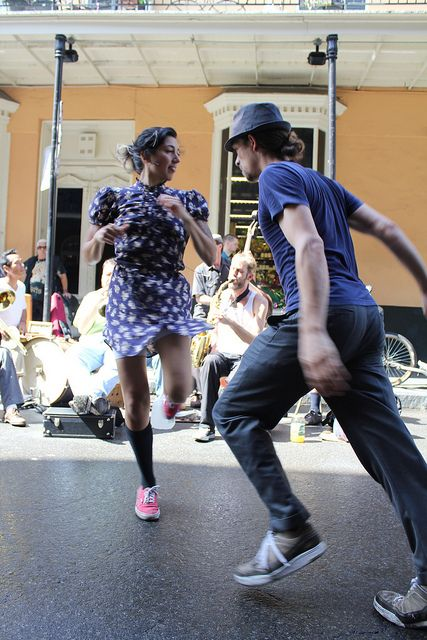 Dancing in the streets of New Orleans, Louisiana- where else is there such celebrated chaos ??? Definitely doing this