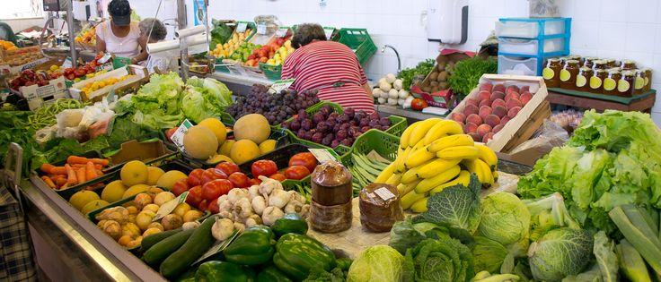 Olhão Daily Fruit & vegetable Market - except Sundays - Olhao, East Algarve, Portugal