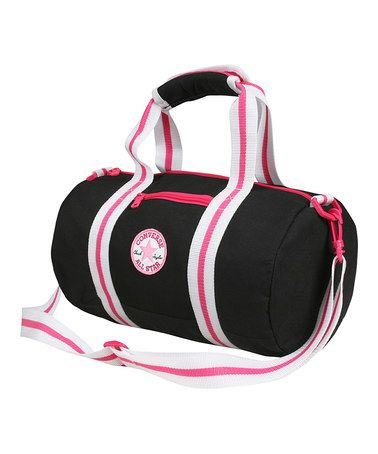 Loving this Black Chuck Patch Tube Duffel Bag on #zulily! #zulilyfinds
