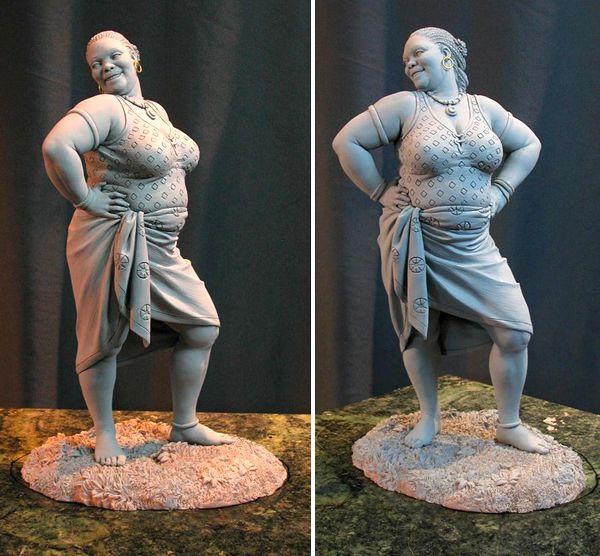 Les sculptures Mark Newman.Blog photo mode
