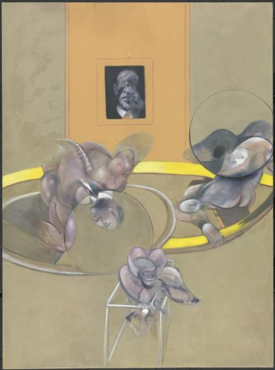 Francis Bacon 'Three Figures and Portrait', 1975 © Estate of Francis Bacon