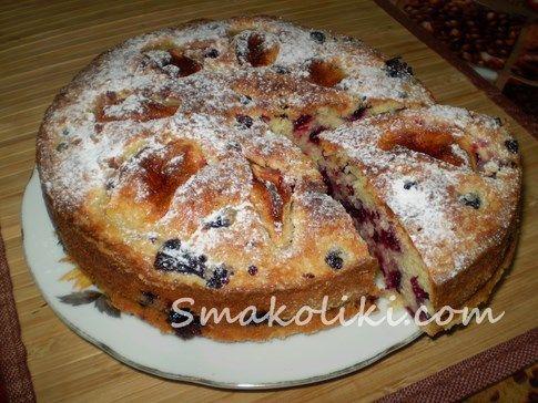 Пирог со смородиной и яблоками. Пошаговый рецепт с фото на Smakoliki.com
