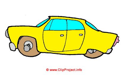 Taxi Bild Clipart gratis herunterladen