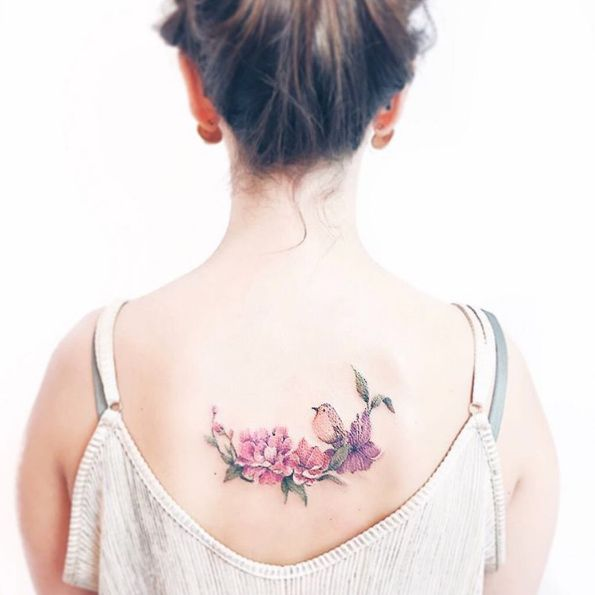 Lovely back piece by Luiza Oliveira