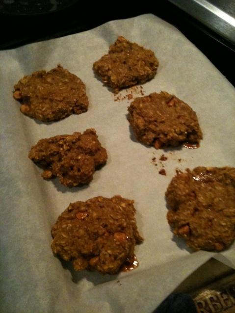 Banana pumpkin breakfast cookies