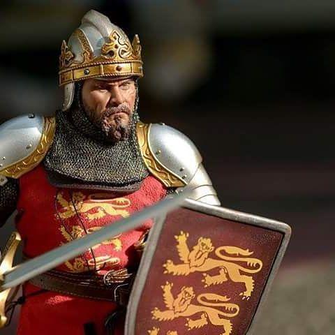 Model Of King Richard The Lionhearted Warrior King King Richard King