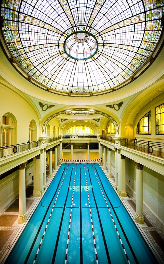 San Francisco's Olympic Club in Union Square #swimming #dream #love