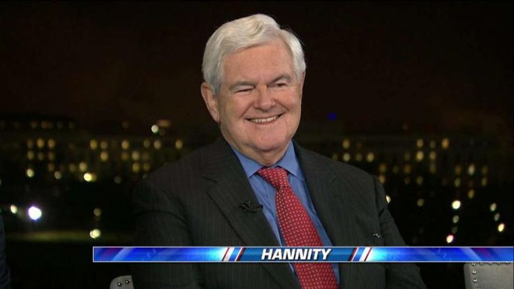 """Former Speaker of the House Newt Gingrich (R-Ga.) said he was """"blown away"""" by President Trump's address to a joint session of Congress."""