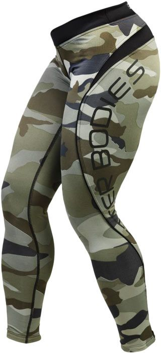 Women's Camo Long Tights by Better Bodies at Bodybuilding.com - Lowest Prices on the Women's Camo Long Tights!