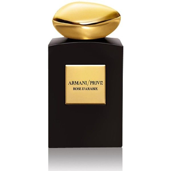Giorgio Armani Rose d'Arabie (EDP, 100ml) ($270) ❤ liked on Polyvore featuring beauty products, fragrance, giorgio armani perfume, giorgio armani fragrance, eau de perfume, giorgio armani and edp perfume