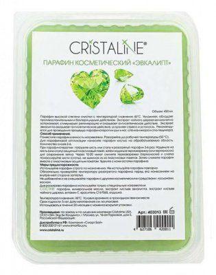 "Парафин косметический ""Эвкалипт"" Cristaline, 450 мл. от Cristaline за 300 руб!"
