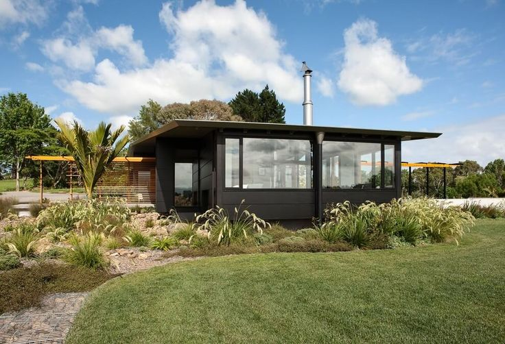 Situated in New Zealand, this contemporary single-storey house was designed in 2015 by Strachan Group Architects.                Description by Strachan Group Architects Te Hihi embraces the intermina