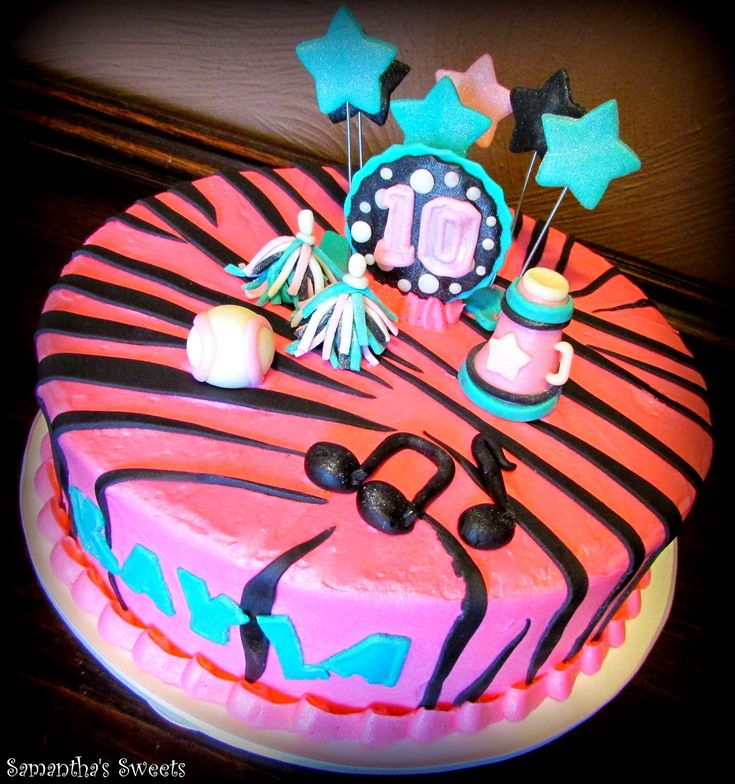 Samantha's Sweets: Birthday Cake Photo Gallery ~ Teen Birthday Cakes