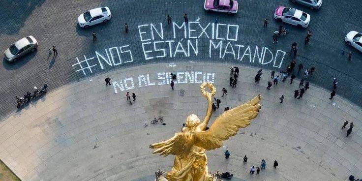 Christian González Murillo El tema del periodismo en México es insostenible, sólo de marzo a junio se han suscitado ocho muertes de periodistas, no es un tema menor, son en promedio dos periodistas muertos cada mes, situación que no podemos dejar a un lado, los periodistas tenemos que levantar...