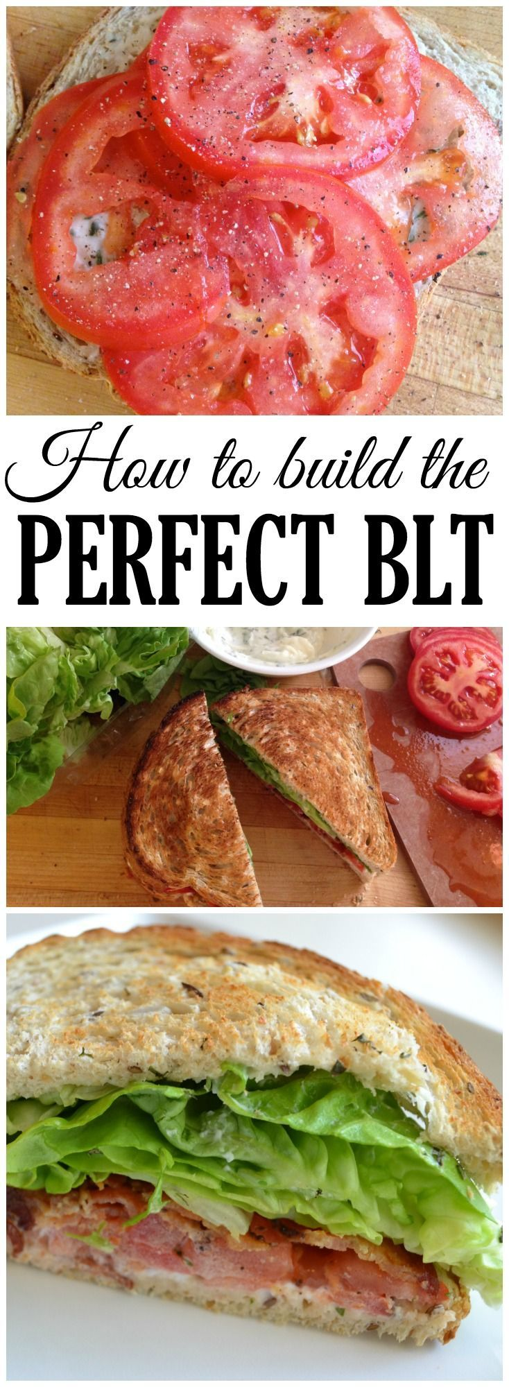 BLTs can be boring or completely amazing...it's all about the details! Follow these instructions and you'll make the best BLT ever.