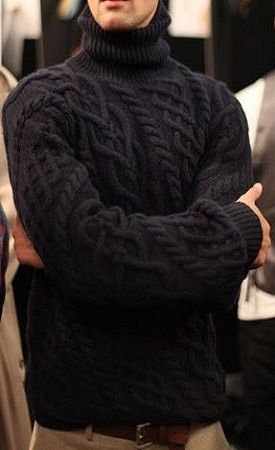 [ M ] cable-knit | #menswear