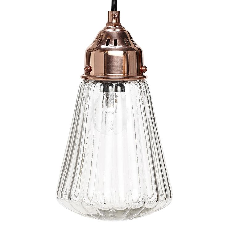 copper lamp glass