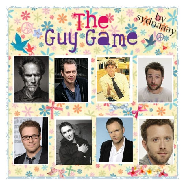 """""""The Guy Game"""" by wheresmysmokes ❤ liked on Polyvore featuring art and celebrities"""