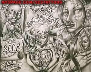 Chicano Tattoos Art Love Poems Gangster Tattoo  Do It