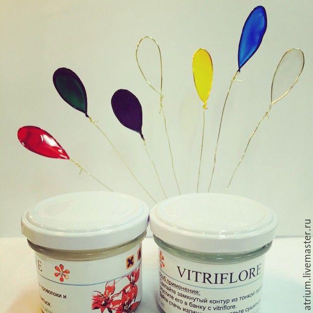 Купить Витрифлор (vitriflore transparent), 100 мл - цветы в украшении, цветы, крылья бабочки, крылья