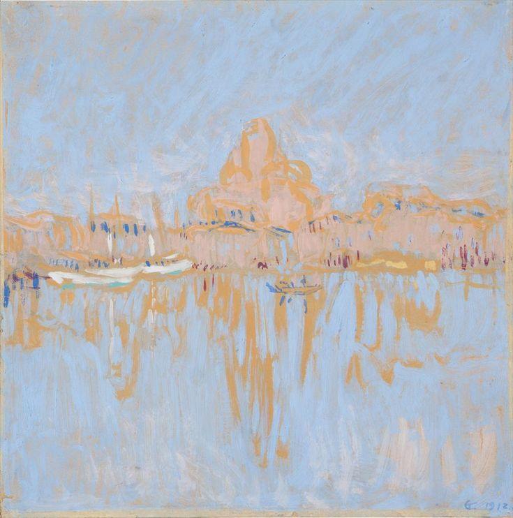 "Ellen Thesleff ""Helsingin satama"", 1912."
