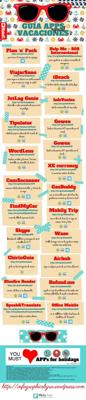 Todas las apps que necesitas en tu móvil para estas vacaciones