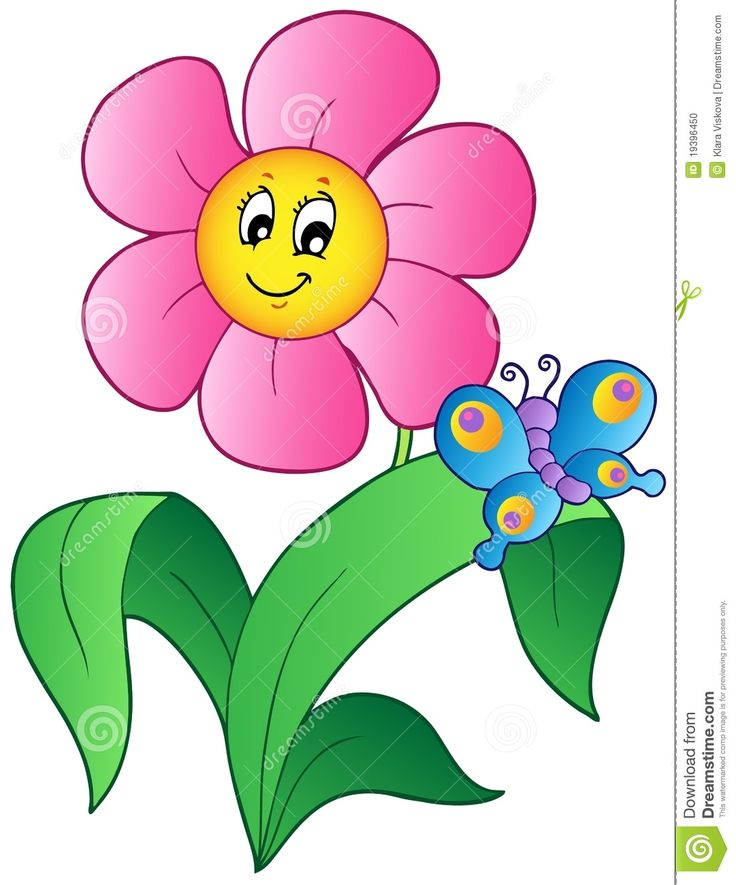 butterfly flower cartoon images - Google Search