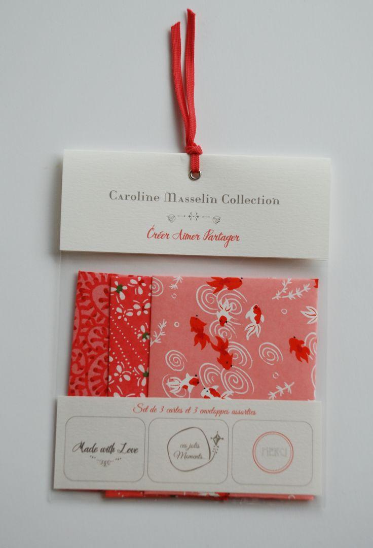Set 3 cartes - Création CM Collection