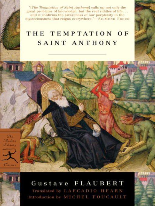 Gustave Flaubert   La Tentation de saint Antoine (1874 & 1903 (éd. définitive)