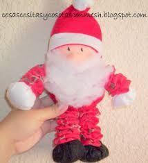Resultado de imagen para muñecos de tela de navidad