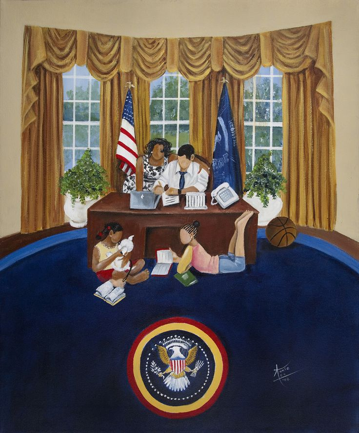 """Oval Office"" by artist Annie Lee"