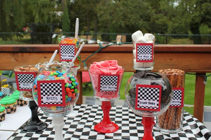 race car themed birthday party - Google Search