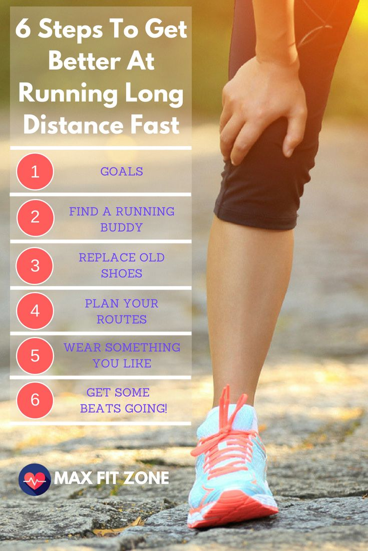 6 Steps To Get Better At Running Long Distance Fast Everything You