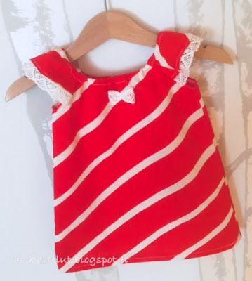 AS-kartelut: Pikkuinen mekko #ompelu #tunika #sewforagirl