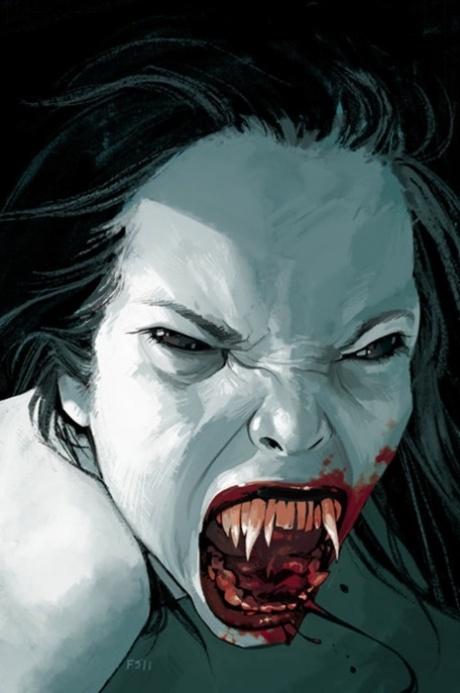 Inspiration   Vampire Horror Illustration By Fiona Staples