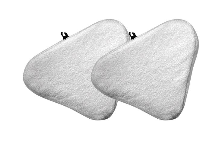 2 Bissell Steam Mop Pads Fit Select Hard Surface Cleaner 94E9T(A) | Part # 76B2A