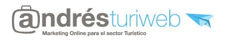 Diseño de la imagen para 'andresturiweb', blog sobre marketing turístico.