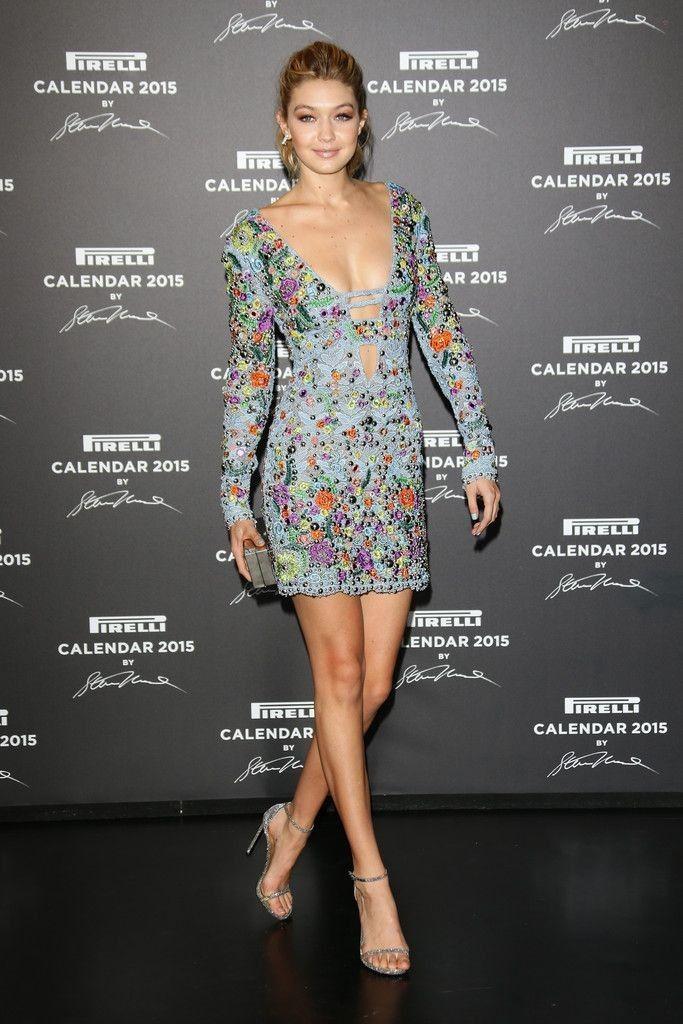 Gigi Hadid Photos: Arrivals at the Pirelli Calendar Event - Celebrity Fashion Trends