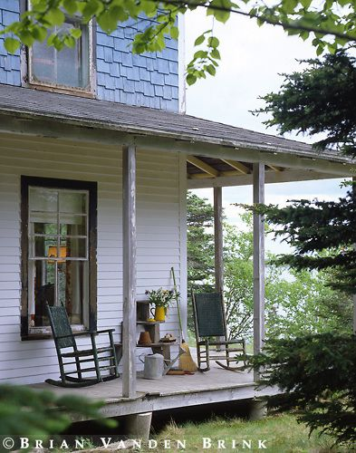 A wonderful rustic farmhouse porch just like my for Country porch catalog