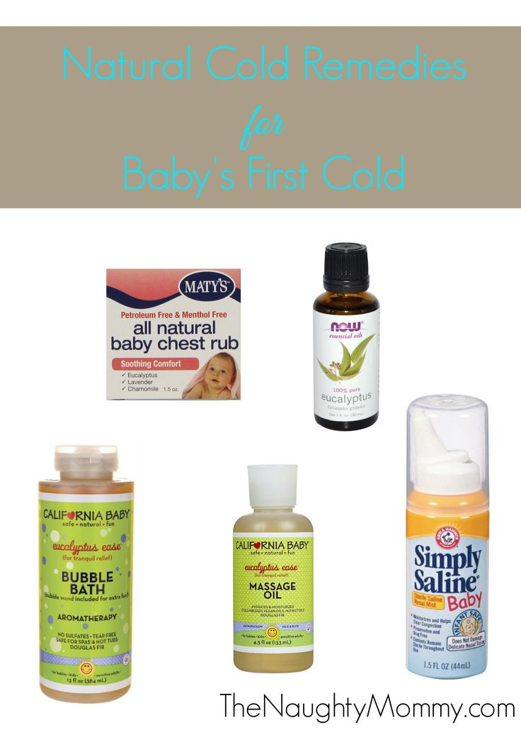 It's frustrating when your baby has a cold and there's really no medicine that she can take yet to help. Here are a selection of natural, safe products that alleviate baby's symptoms and help her feel more comfortable.