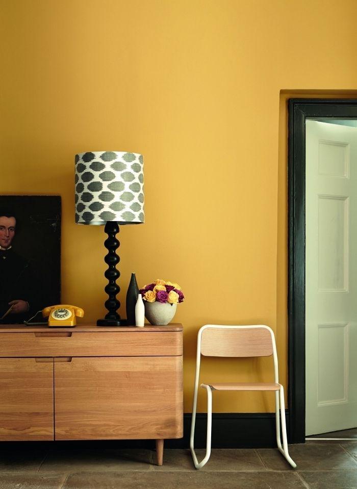 1001 Secrets Pour Reussir La Deco Jaune Moutarde Deco Jaune Deco Jaune Moutarde Peinture Interieur Maison